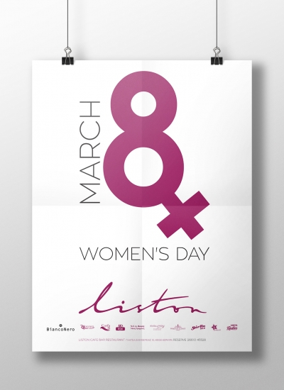 Women's day event identity
